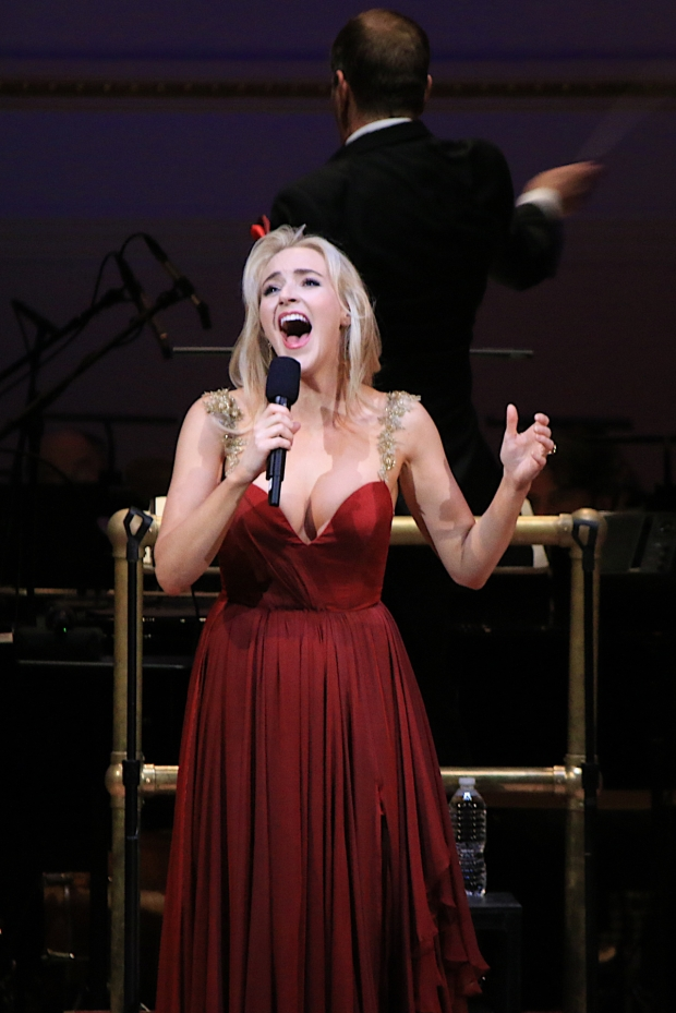 """Betsy Wolfe performs """"Meadowlark"""" ..."""