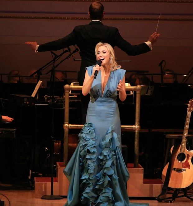 Darren Criss And Betsy Wolfe Take The Stage At Carnegie