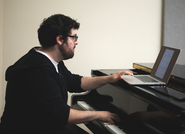 Zack Zadek is the composer-lyricist of the new musical The Crazy Ones.