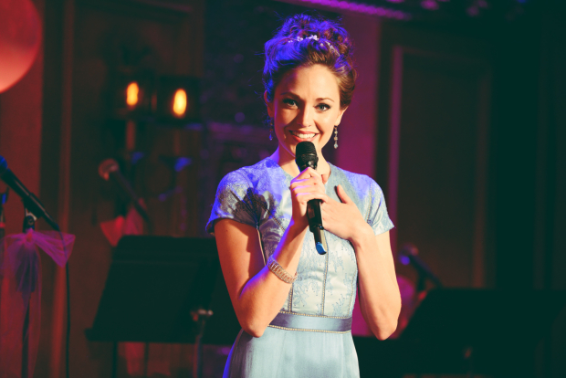 Laura Osnes hosts the Broadway Princess Party.