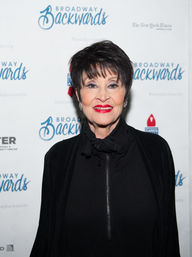 Broadway icon Chita Rivera took part in the 2016 Broadway Backwards concert.