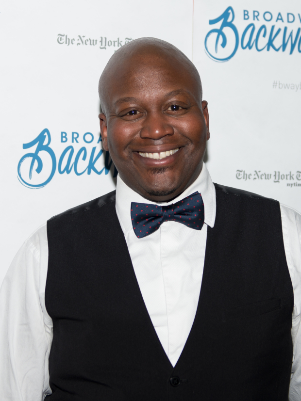 Unbreakable Kimmy Schmidt star Tituss Burgess is an annual participant in Broadway Backwards.