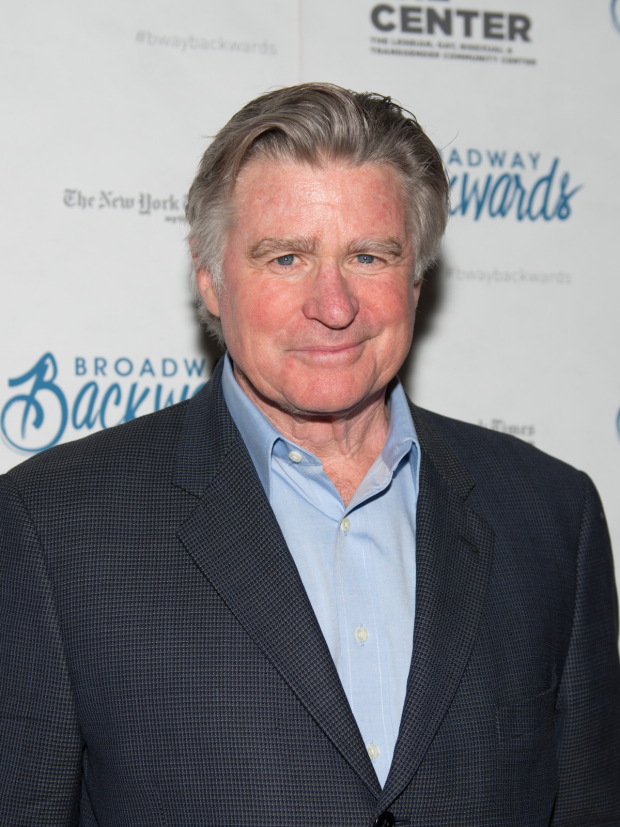 Stage and screen favorite Treat Williams poses for photos at the afterparty.