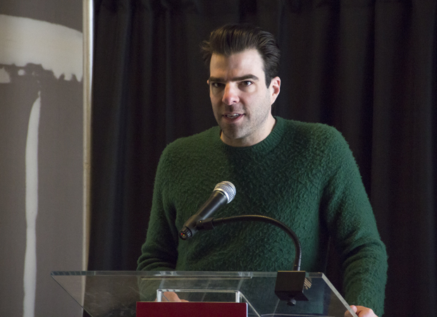 Smokefall star Zachary Quinto speaks of the importance of MCC Theater.