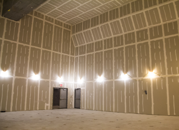 This space will be turned into a convertible 99-seat black box auditorium