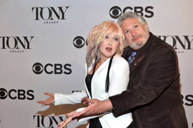 Kinky Boots creators Cyndi Lauper and Harvey Fierstein will receive stars on the Hollywood Walk of Fame.