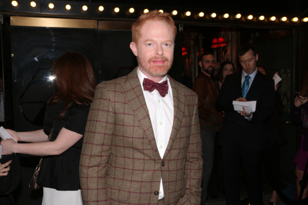 Jesse Tyler Ferguson stars in the Broadway premiere of Becky Mode's Fully Committed.
