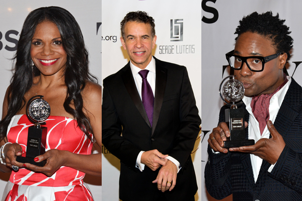 Audra McDonald, Brian Stokes Mitchell and Billy Porter star in Shuffle Along.