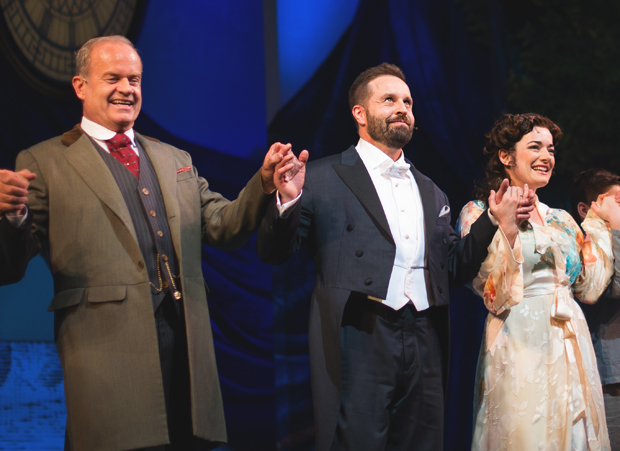 Alfie Boe joins Kelsey Grammer and Laura Michelle Kelly as the leading players of Finding Neverland.