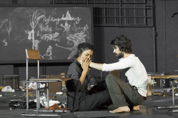 a look at the desperate times in the play the crucible At conard, the students are putting their own touch on the crucible, the play that dramatized the salem witch trials the show will run oct 17, 18, 19 and 20.