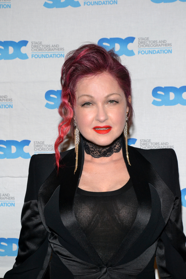 Cyndi Lauper will perform during the 2016 Olivier Awards.
