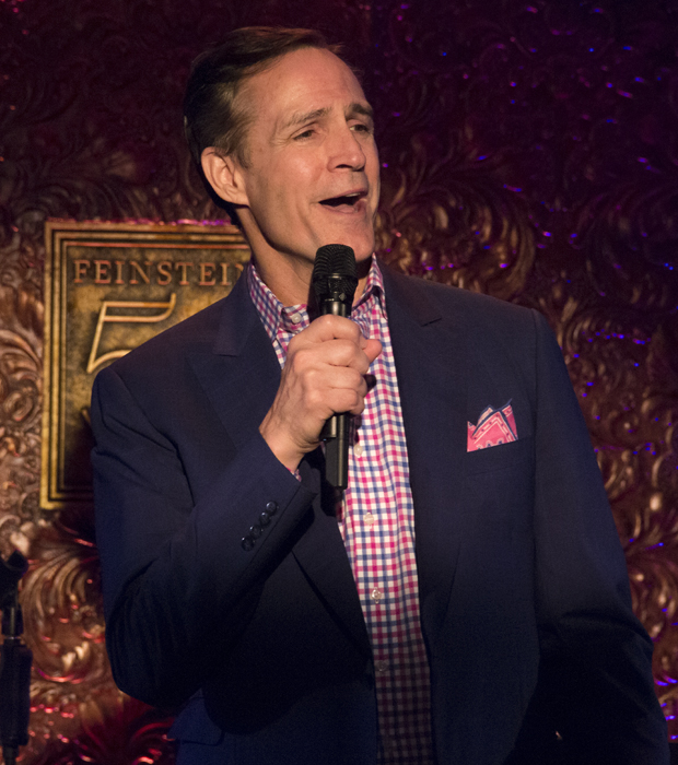 """Howard McGillin sings a mashup of """"My Romance"""" and """"The Folks Who Live On the Hill."""""""