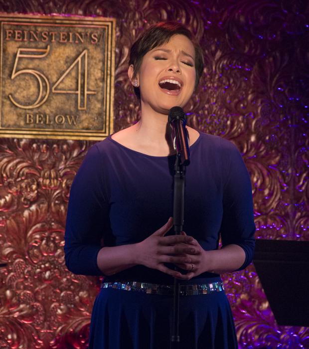 """Lea Salonga performs a mashup of """"Song For You"""" and """"I Can't Make You Love Me."""""""