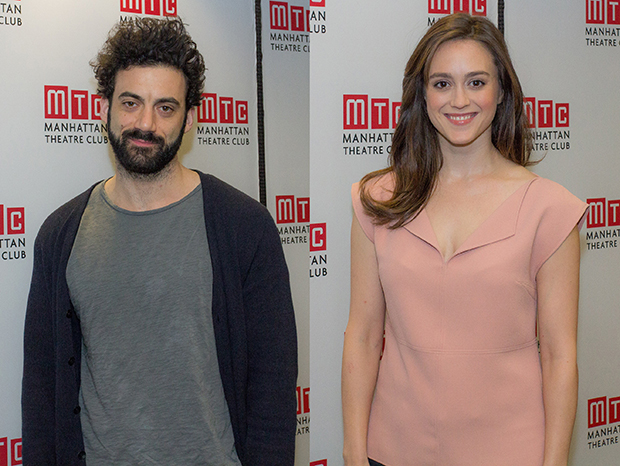 Morgan Spector and Heather Lind round out the cast of the American premiere.