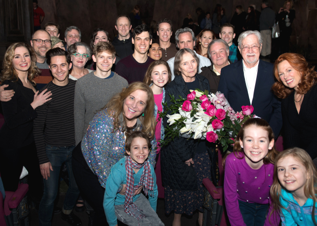 Natalie Babbitt meets the cast and creative team of Tuck Everlasting.