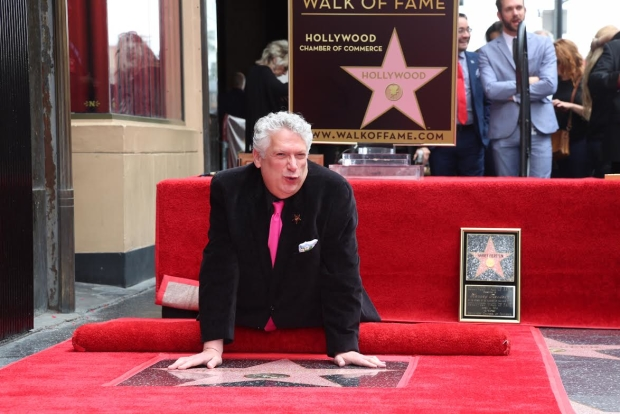 Harvey Fierstein gets up close and personal with his new star.