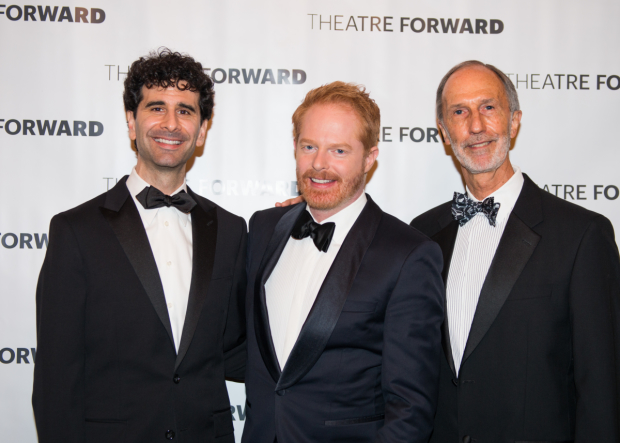 Something Rotten! star John Cariani emceed the evening, which honored Jesse Tyler Ferguson and John R. Dutt.