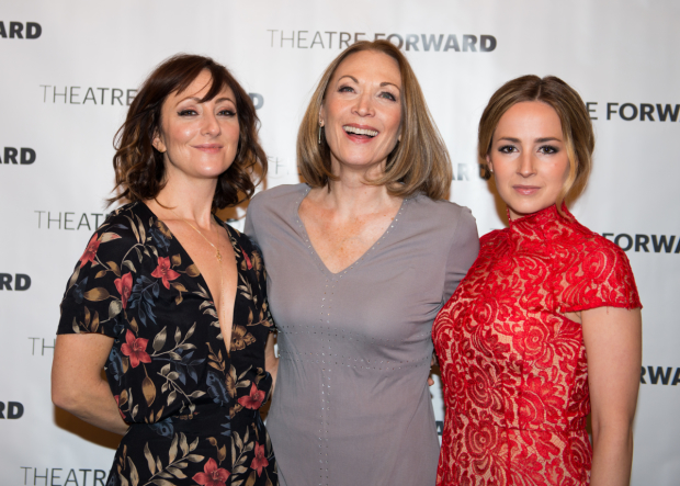 Bright Star leading ladies Carmen Cusack, Dee Hoty, and Hannah Elless are proud to support Theatre Forward.