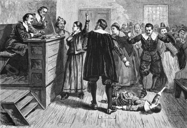 In the Salem Witch Trials, Arthur Miller saw a parallel with the hysteria generated by Joseph McCarthy and his attempt to root out Communists from their hiding places.