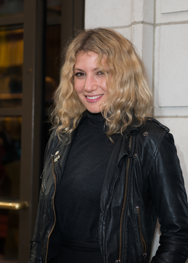 Ari Graynor is on hand to see The Father on opening night.
