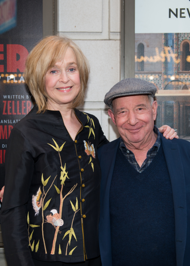It's date night for screen-and-stage couple Jill Eikenberry and Michael Tucker.