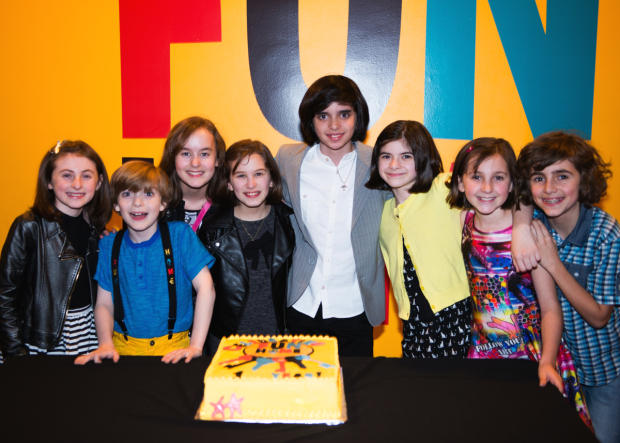 The kids of Fun Home celebrate one year on Broadway.