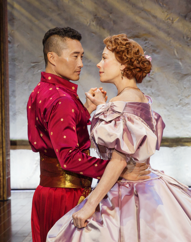 first look at marin mazzie and daniel dae kim in king and