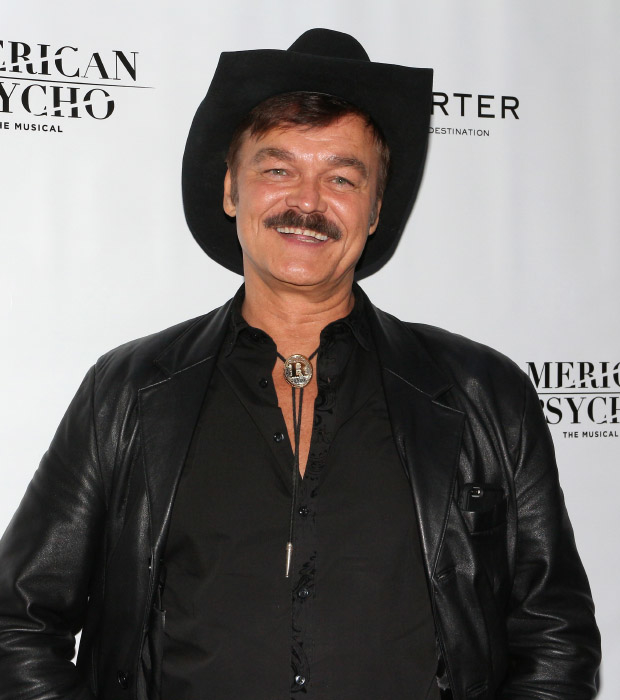 Randy Jones of the Village People smiles for the cameras.