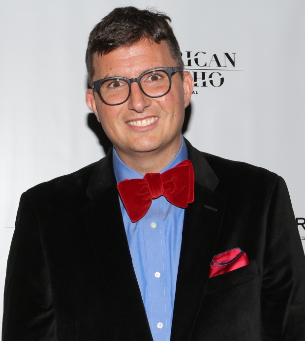 Roberto Aguirre-Sacasa is the proud book writer of American Psycho.