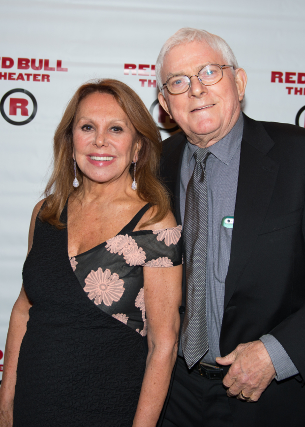 Guests at the opening night festivities included Marlo Thomas and Phil Donahue.