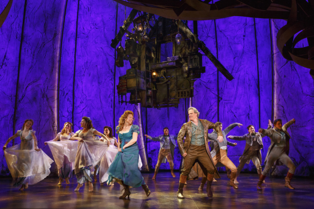 Carolee Carmello and Michael Park share a dance in Tuck Everlasting.