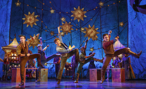 Andrew Keenan-Bolger in Tuck Everlasting, directed and choreographed by Casey Nicholaw.