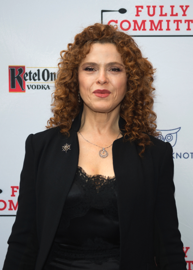 Guests at the opening night performance included Broadway icon Bernadette Peters.