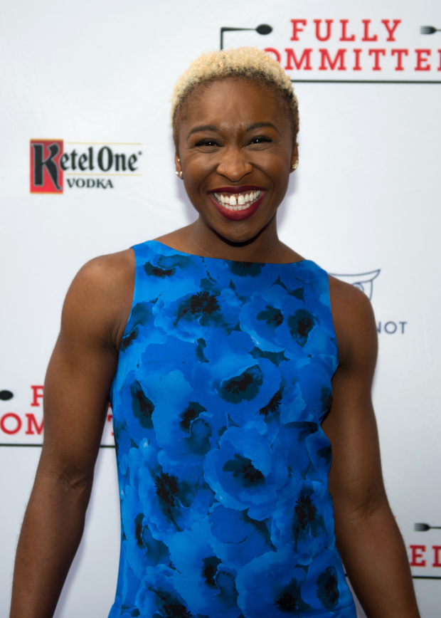 The Color Purple leading lady Cynthia Erivo is excited to see Fully Committed.