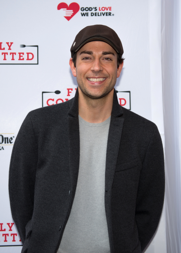 On his night off from She Loves Me, Zachary Levi checks out the latest Broadway comedy.