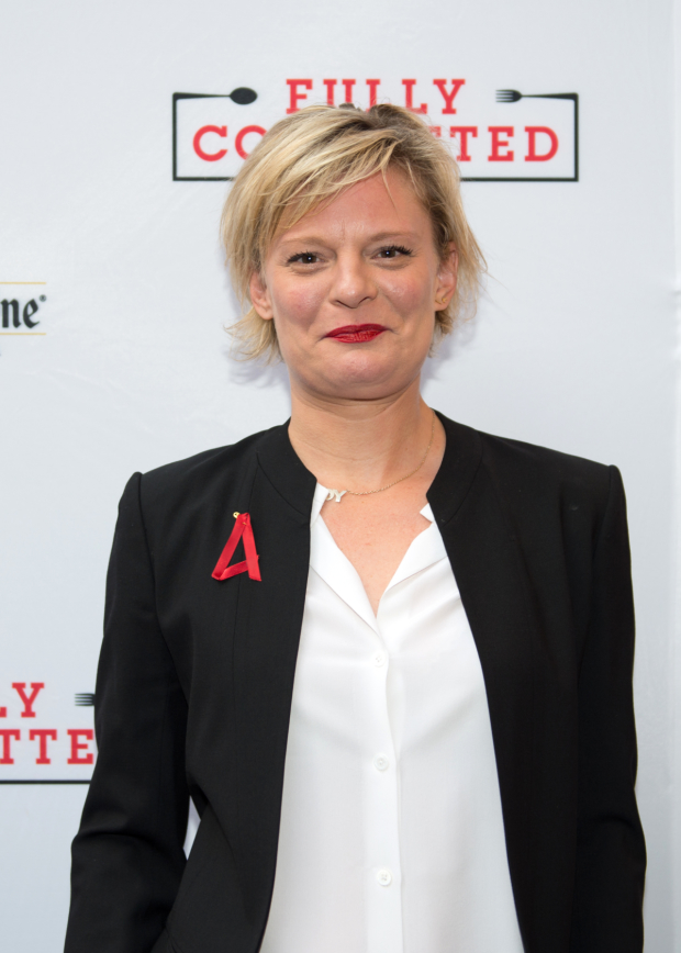 Martha Plimpton is ready to see her pal, Jesse Tyler Ferguson, back on stage.