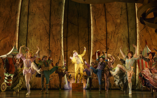 Terrence Mann plays The Man in the Yellow Suit in Tuck Everlasting.