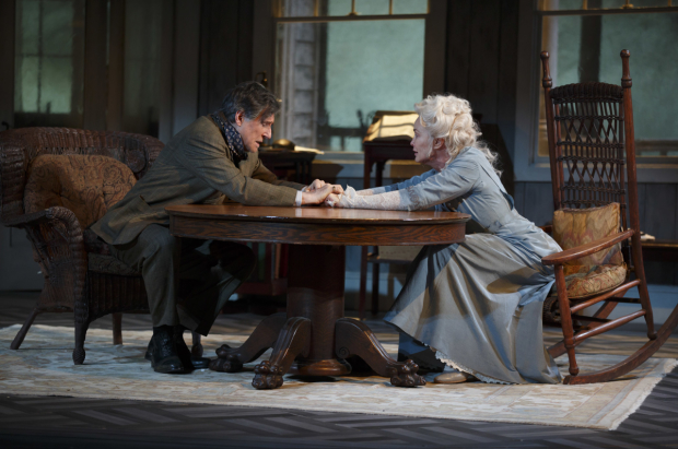 Gabriel Byrne and Jessica Lange star as James and Mary Tyrone in Eugene O'Neill's Long Day's Journey Into Night, directed by Jonathan Kent for Roundabout Theatre Company at Broadway's American Airlines Theatre.