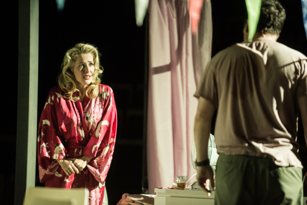 Gillian Anderson stars in Tennessee Williams' A Streetcar Named Desire, directed by Benedict Andrews for the Young Vic at St. Ann's Warehouse.