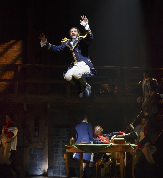 Daveed Diggs is nominated for a 2016 Astaire Award for his work in Hamilton.