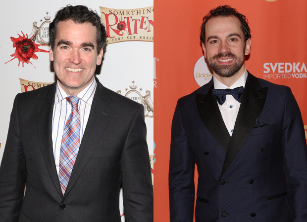 Brian d'Arcy James will be replaced by Rob McClure in Something Rotten!.
