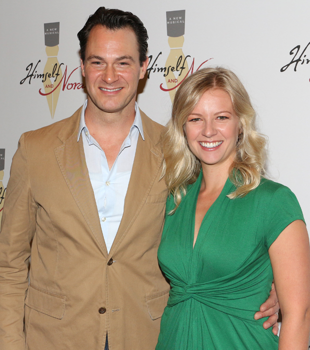 Matt Bogart and Whitney Bashor head the cast of Himself and Nora at the Minetta Lane Theatre.