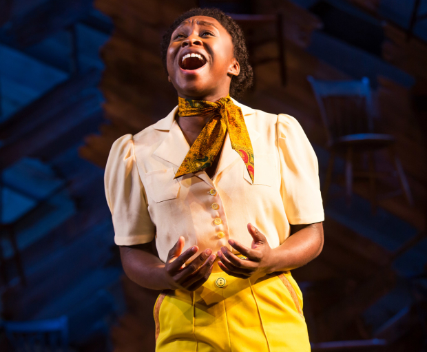 Cynthia Erivo is the winner of a 2016 Outer Critics Circle Award for her performance in Broadway's The Color Purple.