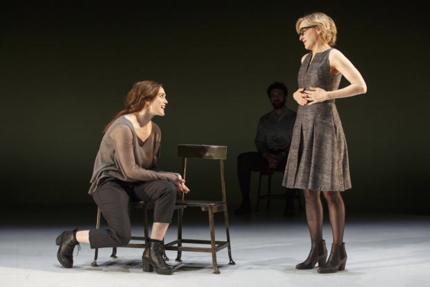 Heather Lind and Geneva Carr in a scene from Incognito.