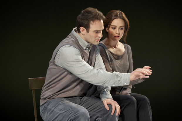 Charlie Cox and Heather Lind in Incognito,  opening May 24 at New York City Center.