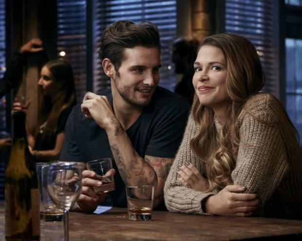 Nico Tortorella and Sutton Foster play on-again/off-again lovers on TV Land's Younger.