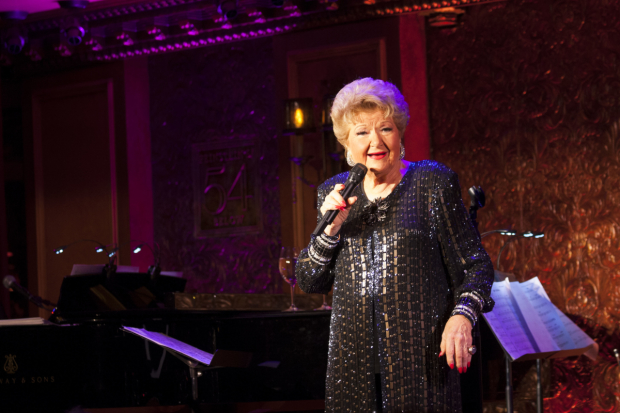 Marilyn Maye stars in Highlights, conducted by Billy Stritch, at Feinstein's/54 Below.