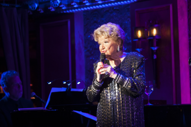 Marilyn Maye sings in Highlights at Feinstein's/54 Below.