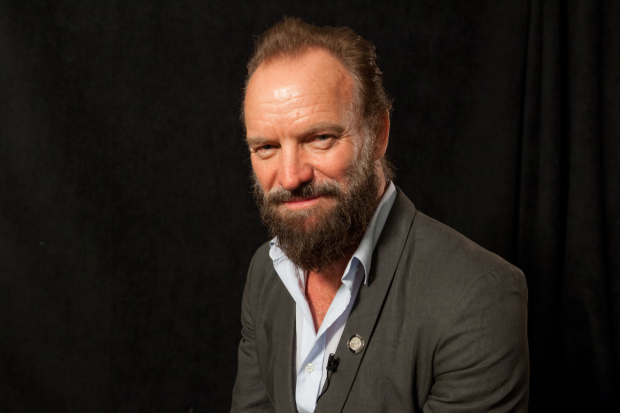 Sting will be honored at the Third Street Music School Spring Gala tonight.