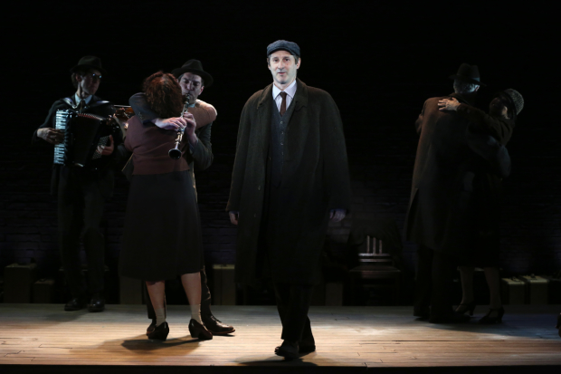 Richard Topol stars as Lemml in Paula Vogel's Indecent, directed by Rebecca Taichman, at the Vineyard Theatre.
